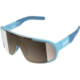 POC Aspire Sunglasses basalt blue/violet silver mirror